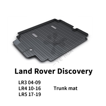 Land Rover Discovery Black Heavy Duty Cargo Floor Mat-All Weather Trunk Protection, Durable HD TPO Fit For LR3 LR4 LR5