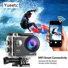 Спортивная 4K экшн-камера 1080P wifi 30m Водонепроницаемая профессиональная камера для фото go pro шлем для подводного спорта камера для серфинга