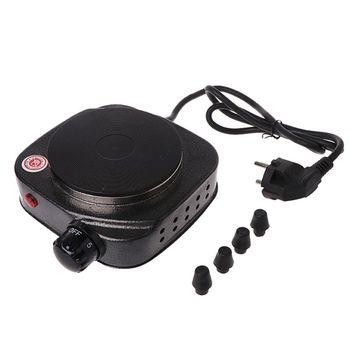 MEXI Mini EU Plug kuchenka elektryczna płytka grzewcza do kawy 500W wielofunkcyjny zestaw agd tanie i dobre opinie STAINLESS STEEL Blat Stałe płyta grzejna 4XFB0304 220V 50Hz Stainless steel Plastic 142x165x55mm 5 59x6 50x2 17 (approx)