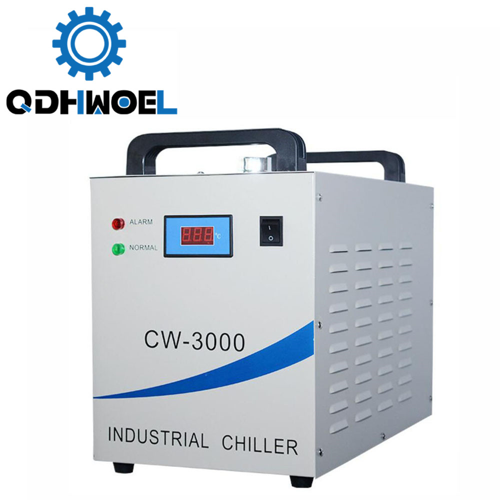 CW-3000AG Co2 Laser Water Chiller For Cooling A Single 80W Laser Tube