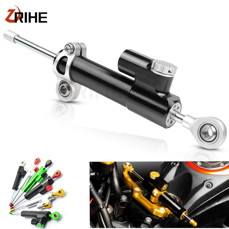 Universal Motorcycle Steering Stabilizer Damper For Aprilia 125 Rs125 1000 R <font><b>2000</b></font> 250 <font><b>50</b></font> Rx50 650 750 200 500 Rs 250 SHIVER image