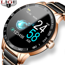 LIGE 2020 New Smart Watch Men Women Smartwatch For Android I