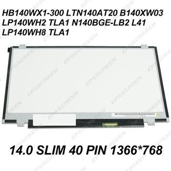 """14.0"""" PANEL FOR ASUS K450C X401U/A S400 x402c X451C D451v W408L X450C LED LCD MATRIX SCREEN DISPLAY 14.0 SLIM 40 PIN"""