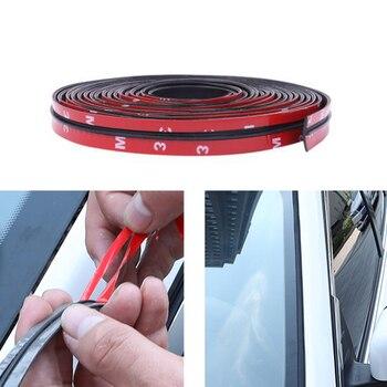 Car Window Edge Windshield Roof Rubber Sealing Strip Sticker For Opel Zafira A B Vauxhall Corsa C Cambo D Vauxhall Corsa 3 Van фото