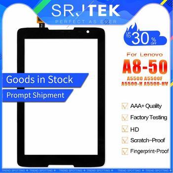 SRJTEK для Lenovo IdeaTab A8-50 A5500 A5500F A5500-H A5500-HV Сенсорная панель дигитайзер сенсор стекло планшет запасные части