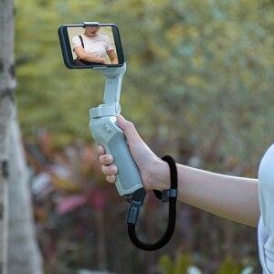 Image 2 - Naylon el kayışı kordon bilek kayışı DJI OM 4 Osmo Mobile 2 3 Zhiyun pürüzsüz 4 Q Feiyu Vimble vlog cep Moza aksesuarları