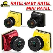 Caddx Ratel /Baby Ratel 1/1.8 Starlight HDR OSD 1200TVL FPV camera 16:9 4:3 NTSC/PAL Switchable 1.66/2.1mm Lens  for FPV Dron