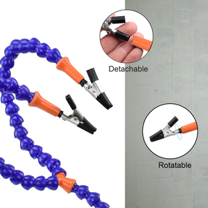 Image 4 - Toolour çoklu lehimleme yardım eli üçüncü el aracı ile 4 adet esnek kolları lehimleme İstasyonu tutucu PCB kaynak onarım için