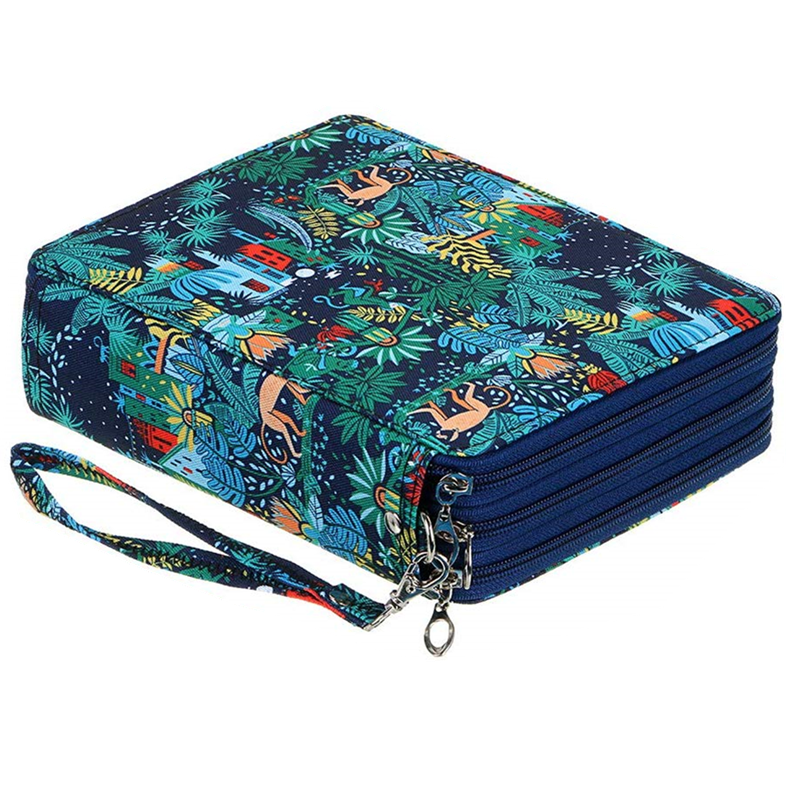 Kawaii مقلمة كبيرة 120 ثقوب صندوق القلم للفتيات الفتيان العودة إلى المدرسة pencelcase كبير لطيف العقوبات خرطوشة حقيبة طقم أدوات مكتبية