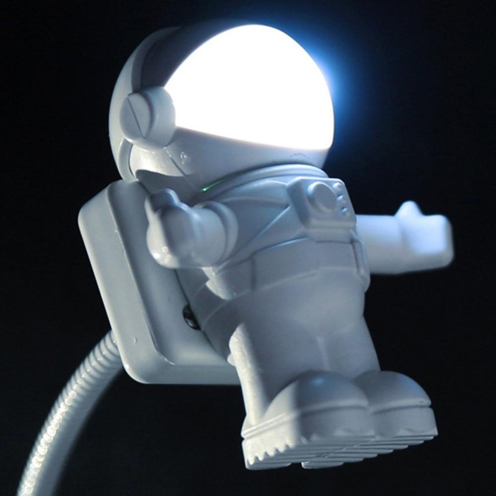 Astronaut Led Night Lights Astros Usb Night Lights Creative Usb Book Lights Computer Table Lamps