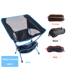 Travel Ultralight Folding Chair Superhard High Load Outdoor Camping Chair Portable Beach Hiking Picnic Seat Fishing Tools Chair cheap SONGYI CN(Origin)