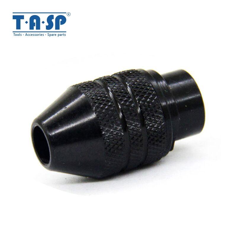 TASP Universal 3 Jaw Keyless Mini Chuck 0.5-3.2mm Collet Mini Drill Accessories For Rotary Tool