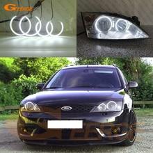 フォードモンデオ用MK3 2000 2001 2002 2003 2004 2005 2006 2007 excellent超高輝度smd ledエンジェル · アイリングキット日ライト