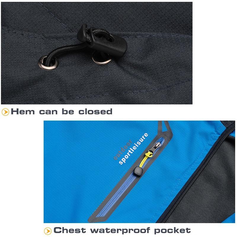 a prova dwindproof agua conjunto masculino trekking 04