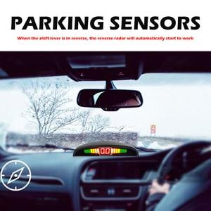 Image 3 - รถParktronic LEDที่จอดรถชุดเซ็นเซอร์สำรองย้อนกลับที่จอดรถเรดาร์ตรวจสอบระบบตรวจจับเซ็นเซอร์4