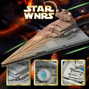 Image 4 - 81029 STAR WARS Imperial Star Destroyer ULTIMATE COLLECTOR Building Blocks Bricks Compatible lepinglys 10030 Birthday Gift Toy