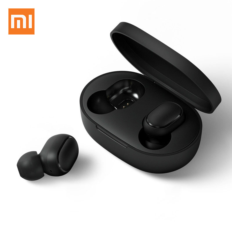 Xiaomi Bluetooth Earphones Headset Air-Dots Mi True Black TWS Wireless Youth