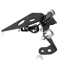 For Triumph Street Triple RS/RX/R/S 2013 2019 Motorcycle License Number Plate Frame Holder Bracket