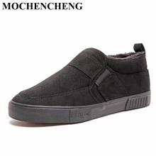 New Men Casual Shoes for Winter Warm Fle