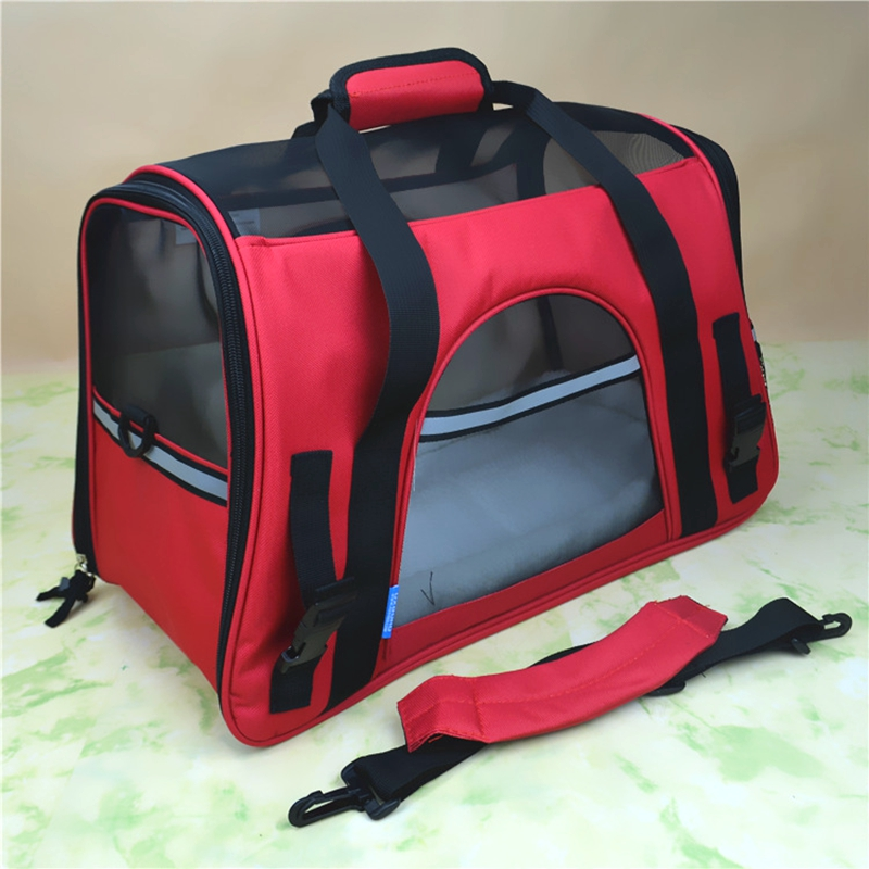 Portable Pet Carrier Bag for Cat Dog Handbag Outdoor Pet Travel Bags Breathable Dog Carry Bag Cat Carrying Carrier Puppy Carrier