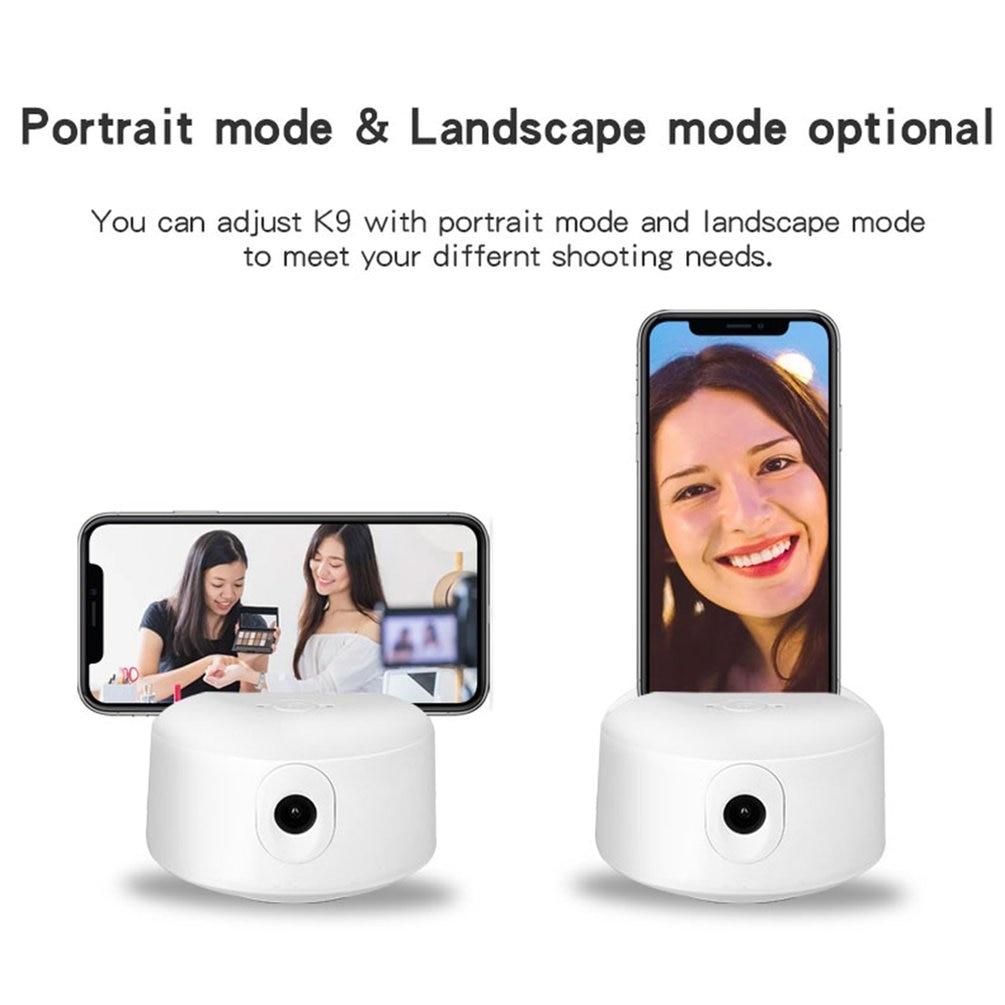 estabilizador ptz reconhecimento facial rastreamento câmera fotografia