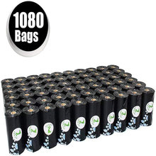 Пакеты для уборки собак 1080 штук 60 рулонов без запаха
