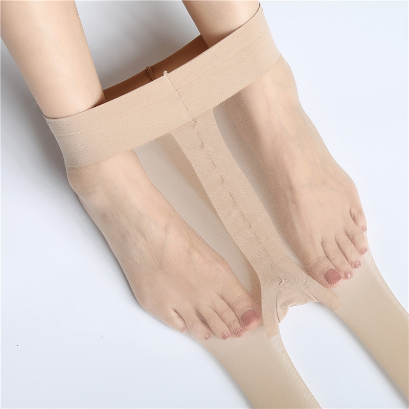 Flight Attendant Stockings 3-D Super-soft Matte Satin Quality In Summer Stockings Super-thin Invisible Anti-hook Pantyhose Hong
