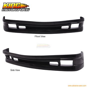 Fit For 1992 1993 1994 1995 1996 1997 1998 BMW E36 AC Type II Style Coupe Urethane Front Bumper Lip Valence