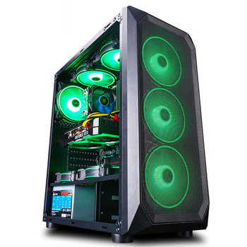 Intel Assembled Desktop Computer Intel Xeon E5-2650L 8-Core/RX560/GTX960 4G/16G RAM 240G SSD Cheap Gaming High Performance PC 2