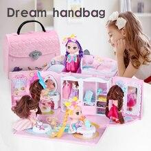 Casa de boneca para móveis, em miniatura, acessórios, boneca, presente de aniversário, casa de brinquedo, modelo de casa, brinquedos para crianças