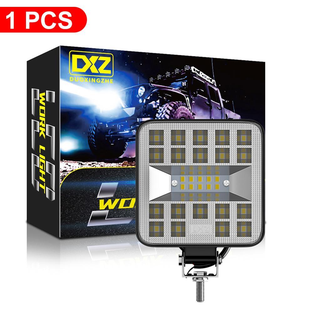 1pc 29LED 80V LED światło robocze jazdy terenowej oświetlenie 87W Auto lampa punktowa ATV UTV SUV pojazd LED Flood Spotlight