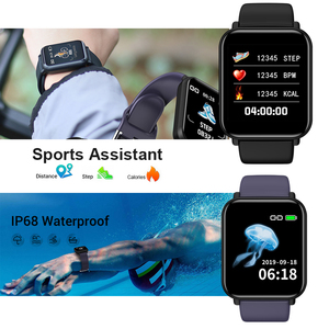 Image 4 - חכם שעון IP68 עמיד למים Smartwatch גברים ספורט קצב לב צג נשים כושר גשש שעון VS Pulseira B57 עבור אנדרואיד/ IOS