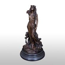 31 см Бронзовая статуэтка Афродита Греческая богиня любви и красоты статуя скульптура офисный стол домашний художественный Декор
