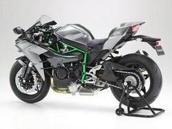 1/12 moto assemblage modèle Kawasak Ninja H2 moto Kits de construction en Fiber de carbone Typ voiture modèle bricolage pour adultes Tamiya 14136