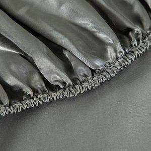 Эластичная натяжная простыня, 1 шт., Комплект постельного белья из шелковистого атласа, простыня для домашнего матраса с эластичными лентам...