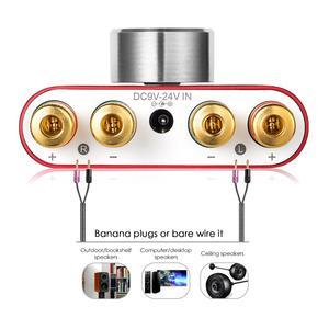 Image 4 - Nobsound מיני Bluetooth 5.0 דיגיטלי מגבר Hifi סטריאו בית אודיו TPA3116 כוח מגברי 50W + 50W רכב מגברי