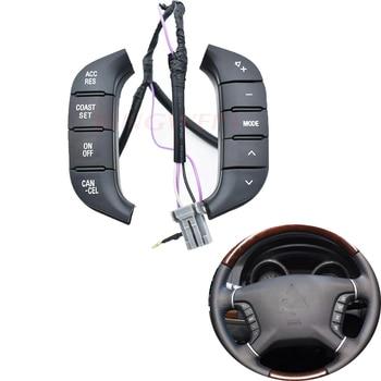 Accesorios para coche interruptor de volante Control de Radio de Audio 84250-PJL para Mitsubishi Pajero botón de audio