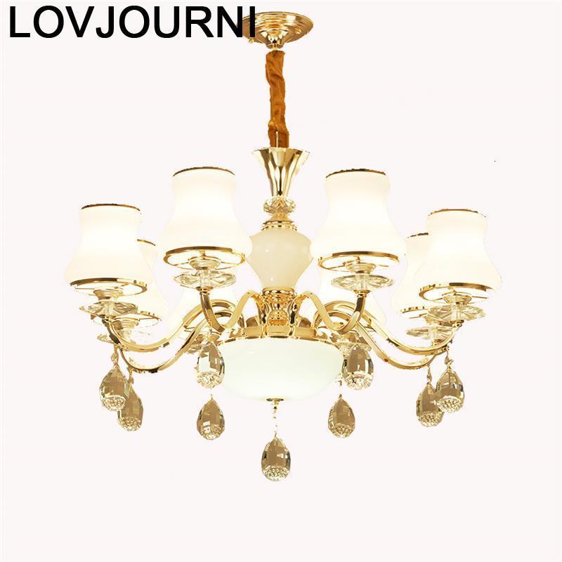 Lampe pendante industrielle nordique Lustre Pendente industrielle Luminaire en cristal Suspension Luminaire Suspendu