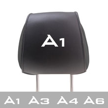 Auto Kussens Cover Voor Audi A4 A3 A6 A1 Auto Interieur Accessoires Auto Hoofdsteun Kussensloop(China)