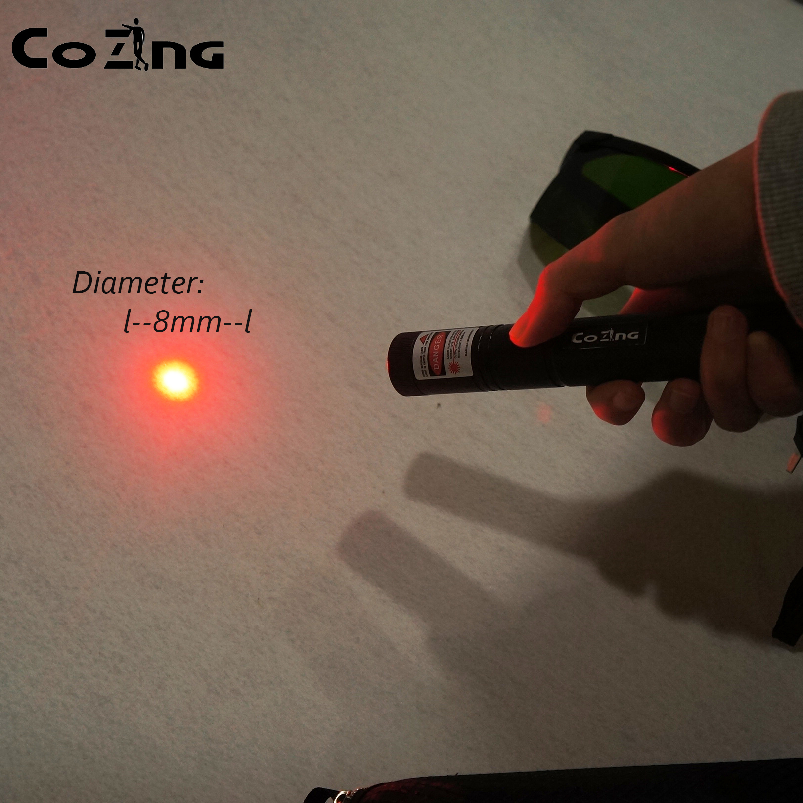 Red Laser Acupuncture Pen Electric Meridians Laser Therapy Pain Device