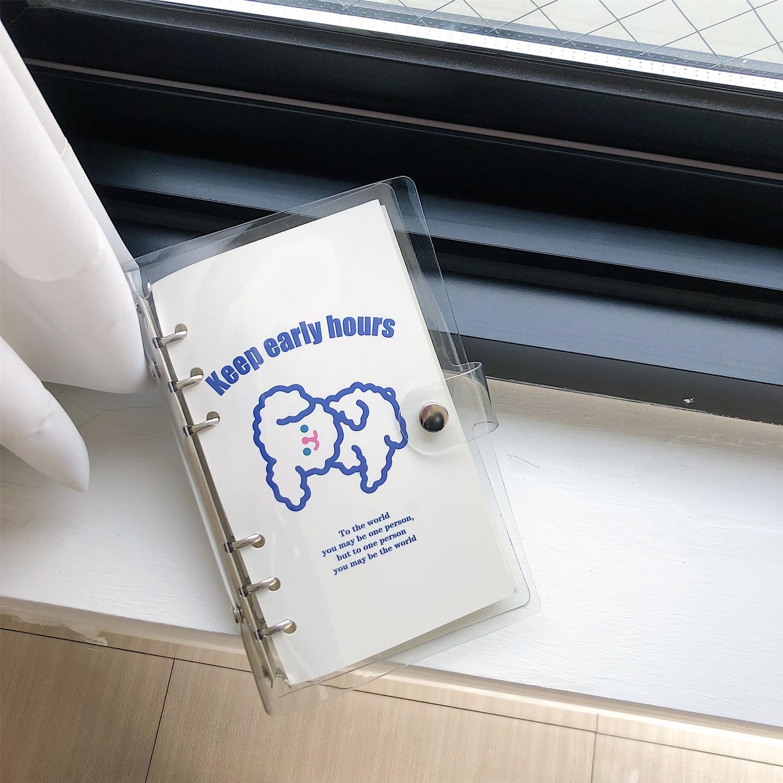 pvc kawaii estudante mão conta memorando almofada diário escola papelaria