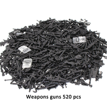 Toys Weapons Building-Blocks Police-Gun Military-Set SWAT Duploed Army-City City-Soldiers