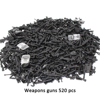 Duploed Military set Army City Police Gun Weapons Series Pack Soldiers SWAT Building Blocks toys for childrens kids