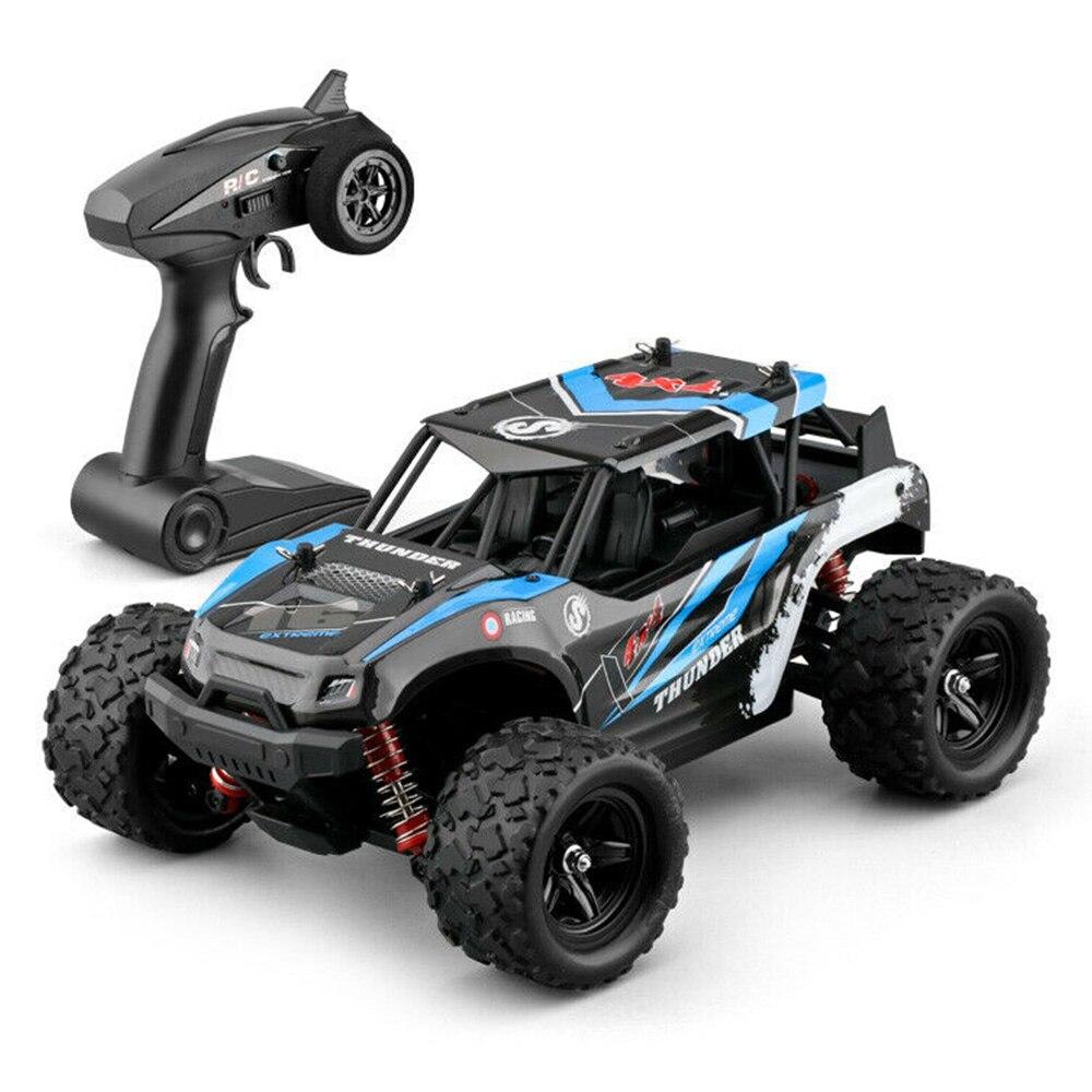 RC Cars 1:18 tout-terrain télécommande haute vitesse escalade voiture quatre roues motrices pleine échelle course véhicule jouets pour enfants - 6