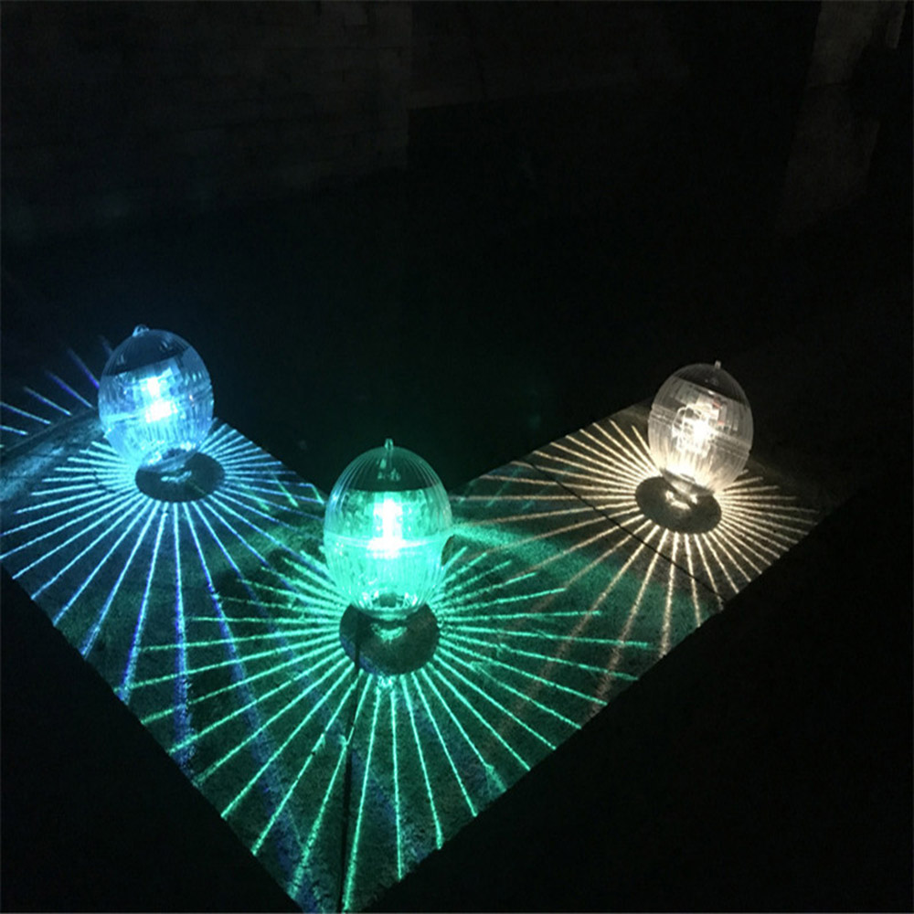Waterproof LED Solar Power Floating Light Multi Color Changing Water Drift Lamp