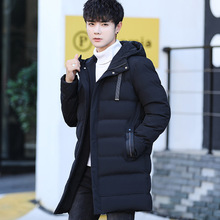 mens winter long jackets and coats Thick Thermal Men Parkas Casual Branded Clothing Mens Winter Jacket Fathers Gift Parka