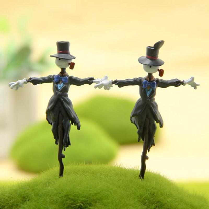 1 Pcs Cartoon Ghibli Howl's Moving Castle Kakashi PVC Action Figure DIY Anime Figures Toys Collection Model Toys