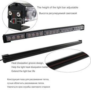 Image 4 - Car styling 8 32led assistente di emergenza per auto avviso Flash stroboscopico barra luminosa led blu semaforo di lavoro
