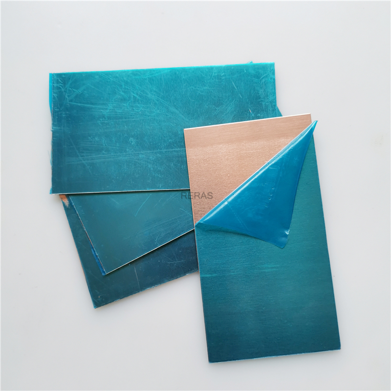 C1100 Copper Sheet Plate DIY Handmade Material Pure Copper Tablets DIY Material For Industry Mould Or Metal Art 1x55x100mm