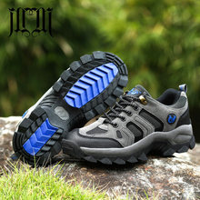 MUMUELI Plus Large Size Gray Green 2019 Designer Casual Women Men Shoes Breathable High Quality Hiking Fashion Male Sneakers 206(China)